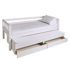 Griffin Kids' Day Bed with Storage & Truckle | Great Little Trading Co.