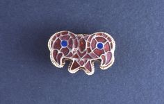 Dr Caitlin Green @caitlinrgreen  37m37 minutes ago View translation A 6thC Ostrogothic gold cloisonné brooch w/ 2 bird heads+central cicada motif within inlay: http://www.britishmuseum.org/research/collection_online/collection_object_details.aspx?objectId=96480&partId=1 …