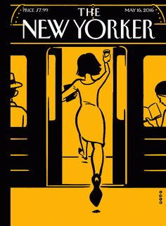 Illustrator Christoph Niemann has created a charming augmented reality cover for The New Yorker magazine which transports viewers to an animated cityscape via a ride on the subway.