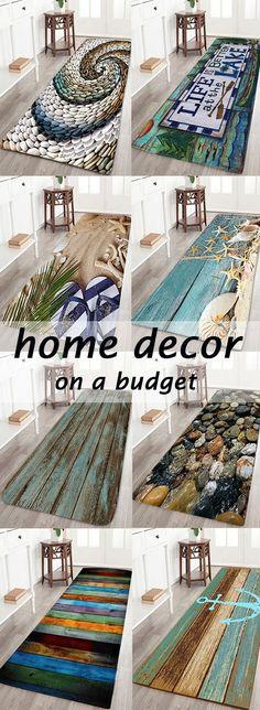 home decor on a budget.bath rugs