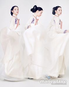 Lee Young Ae Elevates the Korean Hanbok to a Work of Beautiful Art in Marie Claire Korea Korean Traditional Dress, Traditional Fashion, Traditional Looks, Traditional Dresses, Korean Hanbok, Korean Dress, Korean Outfits, Korea Fashion, Asian Fashion