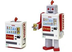 Vending Machine Transformable Robot Paper Toy - by Kirin This cool Robot Paper Toy came from Japanese website Kirin. Pull the legs, arms and head to get a nice and very original Robot Vending Machine. Little Free Libraries, Free Library, Free Paper Models, Cool Robots, Automata, Designer Toys, Paper Toys, Giraffe, Cool Stuff