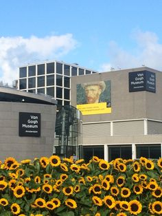 VanGogh museum: Amsterdam, Netherlands