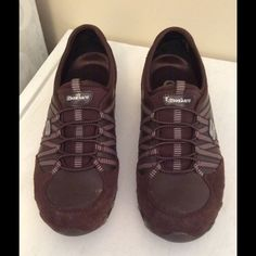 Slip-on Skechers VGC Low profile sneaker. Excellent used condition. Brown color. Skechers Shoes Athletic Shoes