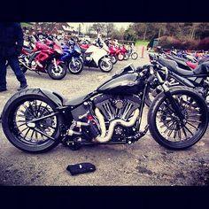 mean looking custom...