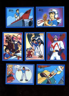 SPEED RACER Vintage 1993 Prime Time GOLD (  special insert card) card Lot of 7 cards Great Condition Free Shipping by Tanraytoycollectable on Etsy