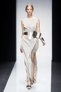 View photos of the Gianfranco Ferre Spring 2014 Ready-to-Wear Collection