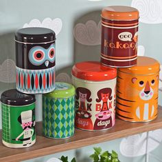 print & pattern: Amazing canisters!! |  ingela p arrhenius