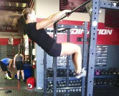 Such a good tutorial! Before I found CrossFit, I had never seen a kipping pull-up. I had never heard of any other style of pull-up besides a strict, dead-hang pull-up. I remem