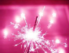 PINK sparklers<3