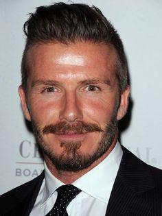 Celebrity Moustaches - David Beckham
