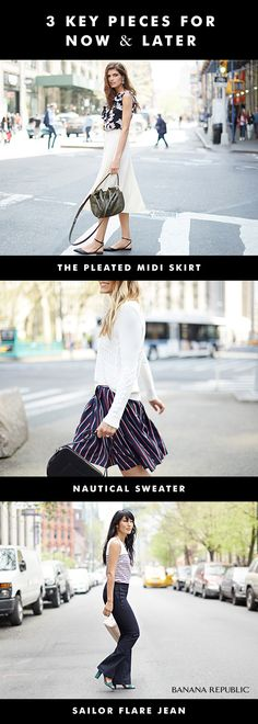 efbd0c0de Stretch your wardrobe by choosing three key pieces that can work together  or on their own