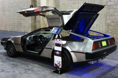 Check out this awesome all-electric DeLorean!