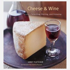 Cheese & Wine Book.