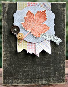 Klompen Stampers (Stampin' Up! Demonstrator Jackie Bolhuis): Masculine Monday: Magnificent Maple