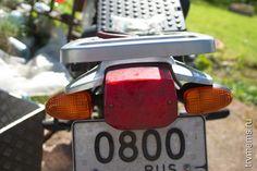 BMW R1150GS укоротить указатели поворотов (уменьшить поворотники)
