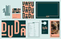 love the overpowering typography. Corporate Branding, Self Branding, Identity Branding, Coperate Design, Menu Design, Design Color, Restaurant Branding, Restaurant Restaurant, Hotel Branding