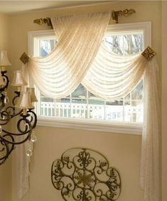 Fantastic Swag Curtains For Bedroom Inspiration with Best 20 Window Scarf Ideas … – Bedroom Inspirations Swag Curtains, Bedroom Curtains, Unique Curtains, Elegant Curtains, Bedroom Swing, Fringe Curtains, Small Window Curtains, Bathroom Window Curtains, Bath Window