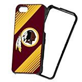 Forever Collectibles NFL 2-Piece Snap-On iPhone 5/5S Polycarbonate Case - Retail Packaging - Washington Redskins