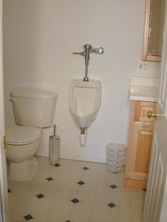 basement bathroom installation