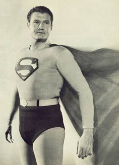 George Reeves as Superman 1960s..i LOVED watching this and star trek