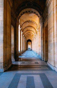 Käytävä, Käytävien, Arkkitehtuuri