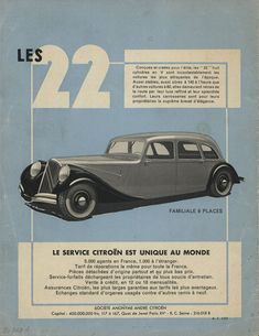Citroën celebrates 80 years of the Traction Avant Page 5 Art Deco Car, Citroen Traction, Traction Avant, Kansas Usa, Citroen Car, Commercial Ads, France, Sport, Cars And Motorcycles