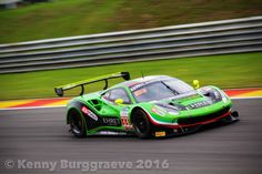 Rinaldi Racing Ferrari @ Total 24 Hours of Spa 2016