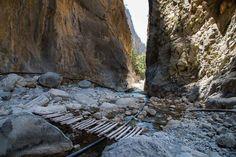 Samaria gorge,Crete.