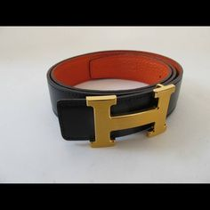 HERMES BELT, REVERSIBLE :) Authentic hermés belt, I love this it is beautiful but still unsure weather I want to get rid of this or not lol. No box, this includes BELT AND BUCKLE. Looking to trade for an LV speedy 40 Azur Damier or Kasuma edition. My waist is a 24/25 Hermes Accessories Belts