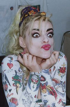 Nina Hagen Mother of Punk Nina Hagen, The Pussycat, Face Expressions, Nicole Scherzinger, Post Punk, Bad Hair, Music Stuff, Punk Rock, Beautiful People