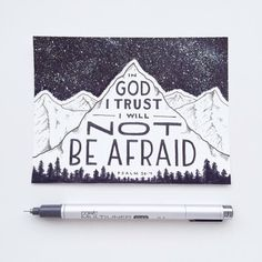 """In God I trust, I will not be afraid. So worthy of our trust. so worthy of praise. Thank you for meeting all our needs through Christ. Give us more faith so we may face every. Scripture Art, Bible Art, Bible Quotes, Bible Verses, Scriptures, Prayer Quotes, Christian Art, Christian Quotes, Christian Drawings"