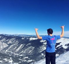You can enjoy the Palm Life anywhere. On top of the highest elevation of any triple chair in the North American Continent with an elevation of 12480 feet while hanging loose enjoying the #PalmLife