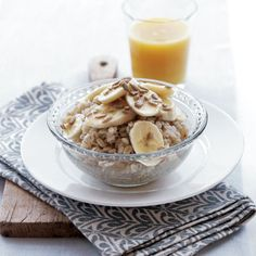 Wanna bet this is the HEALTHIEST BREAKFAST ever created? Breakfast Barley with Banana & Sunflower Seeds | health.com