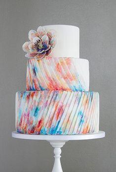 めずらしくって可愛すぎ♡モダンな結婚式のウェディングケーキまとめ一覧♡