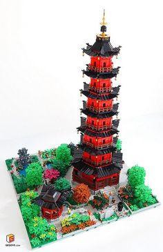 Tianfeng Tower legoMOC