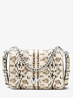 14982831224f Mott Snake-Embossed Leather Dome Crossbody. See more. Crossbody Bags
