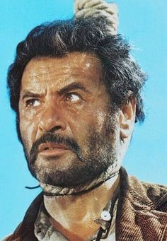 """Eli Wallach at the end of his rope in """"The Good, the Bad and the Ugly"""""""