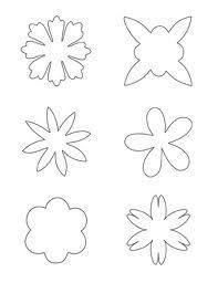 templates wafer paper flowers - Google zoeken