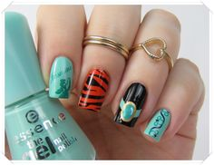 Disney Nail Art: Princess Jasmine Nails