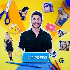 Luan Poffo faz vlogs para a galera não poupar as risadas! #FazendoArteNaDia #scrapbooking