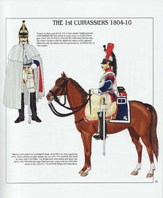 French; 1st Cuirassiers, 1804-10