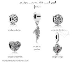 pandora autumn fall 2015  I'll have the majestic feather, angelic feathers and angel wings please :)