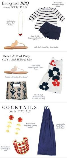 FASHION FRIDAY: 4TH OF JULY OUTFIT INSPIRATION