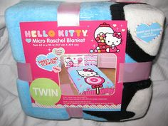 Hello Kitty Micro Raschel Blanket Twin Bed Size Blanket sweet and scented