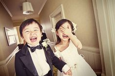 Make sure your photographer captures candid moments of the kids/family members as well!