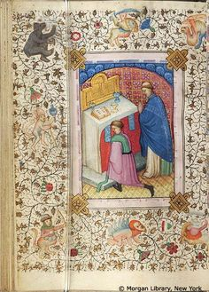 Book of Hours, MS M.76 fol. 217v - Images from Medieval and Renaissance Manuscripts - The Morgan Library & Museum
