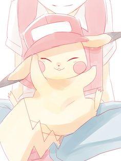 Red (Pokémon), Pikachu