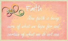 Exercise with God, Walk in Faith