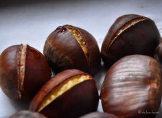 December 14 Roasted Chestnut Day - a holiday tradition since I first tasted roasted chestnuts on a trip to NYC between Thanksgiving and Christmas as a girl - 5 Easy Steps for Oven Roasted Chestnuts